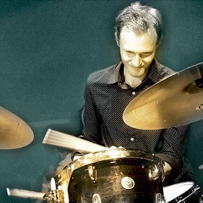 Xaver Hellmeier Drums bei den