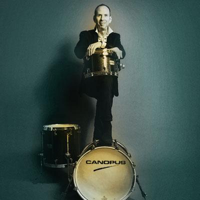 Rick Hollander Drums bei den