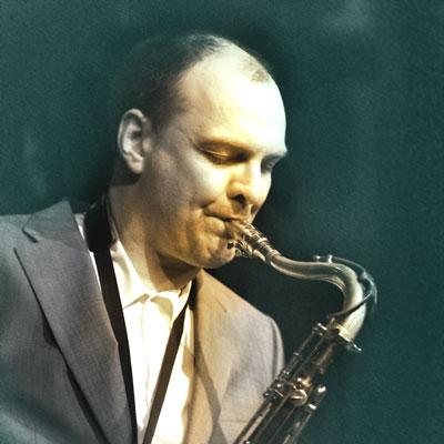 Claus Koch Saxophon bei den