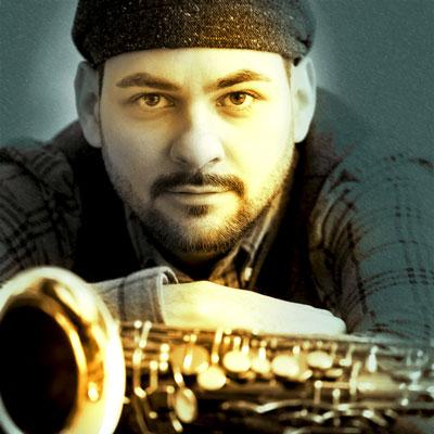 Mark Pusker Saxophon bei den