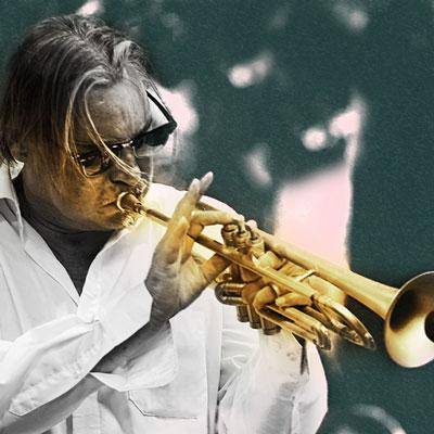 Peter Tuscher Trompete bei den