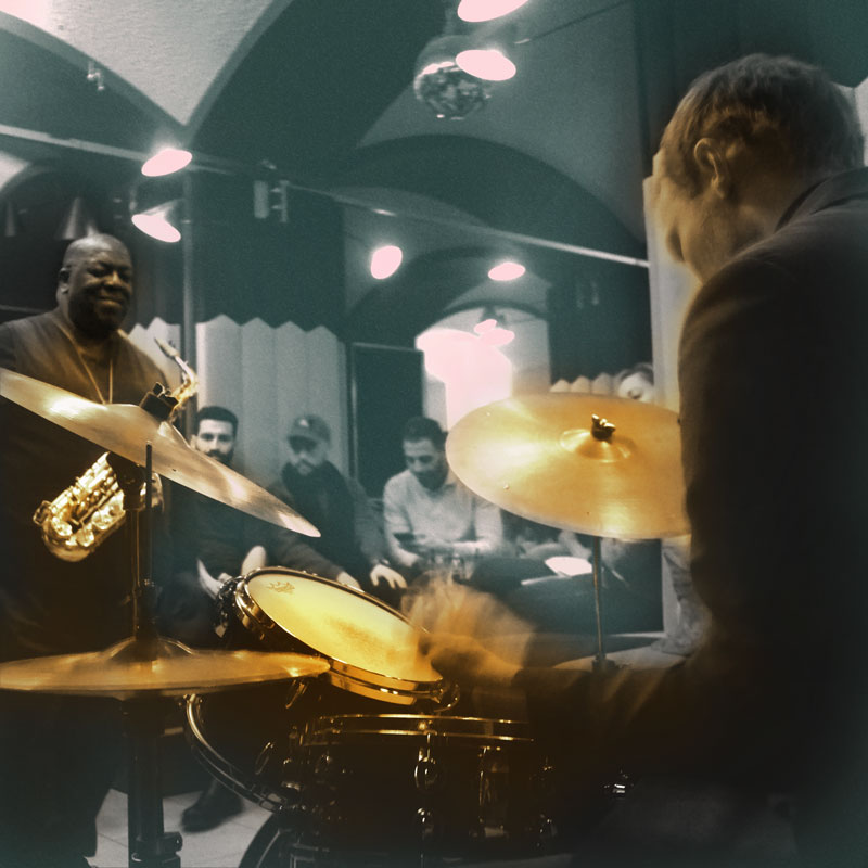 """Die """"Jazz Salon Nights"""" im Kellergewölbe des Gärtnerplatztheater mit Jesse Davis und Xaver Hellmeier"""