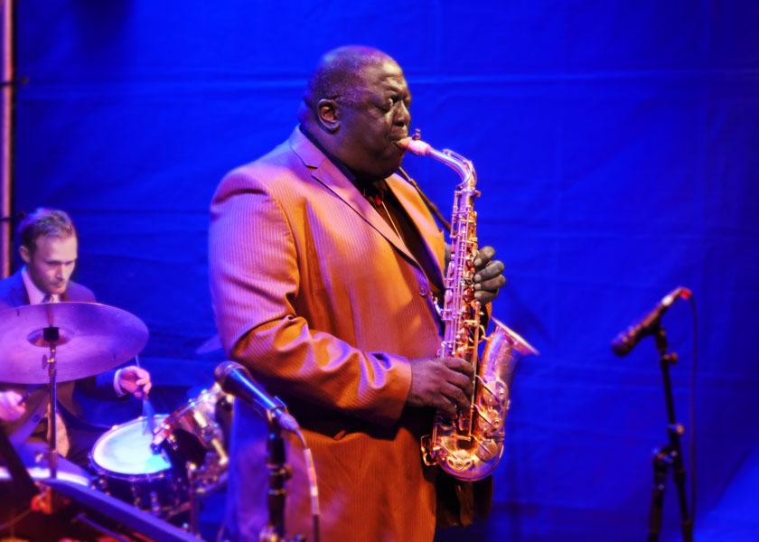 """Jess Davis bei den """"Jazz Summer Nights"""" 2019 am Gasteig München"""