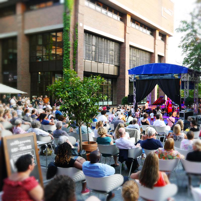 """Kleine Bühne Großes Publikum Sensationelle Atmosphäre bei den """"Jazz Summer Nights"""""""