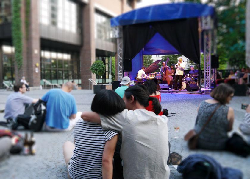 """Peter Tuscher bei den """"Jazz Summer Nights"""" 2019 am Gasteig München"""