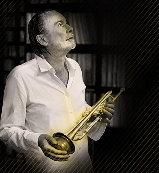 Peter Tuscher, Münchens Jazz-Trompeter macht den Auftakt bei den