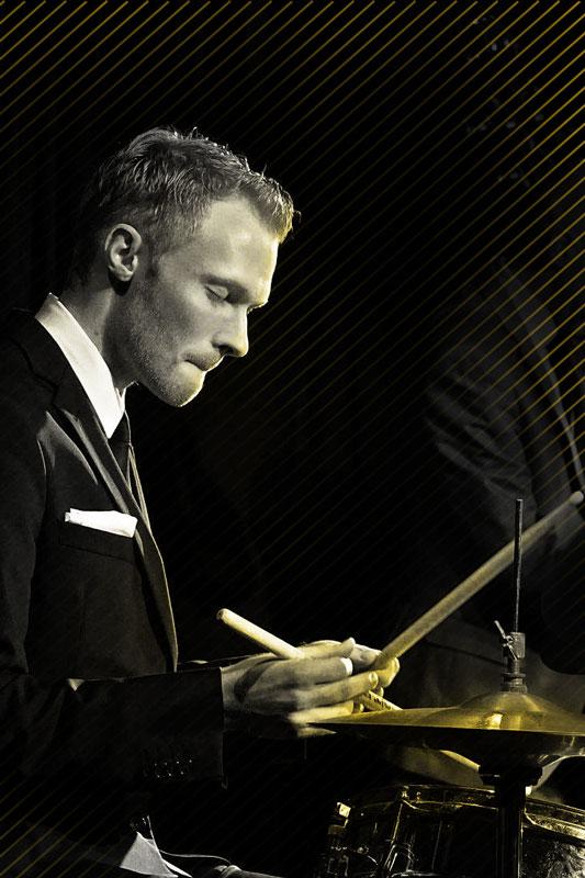Xaver Hellmeier Jazz Schlagzeug Julian Schmidt Trio